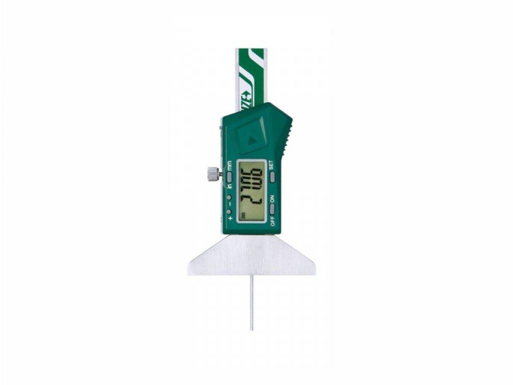 Mikrometrický digitální hloubkoměr INSIZE 50 mm 1140 50