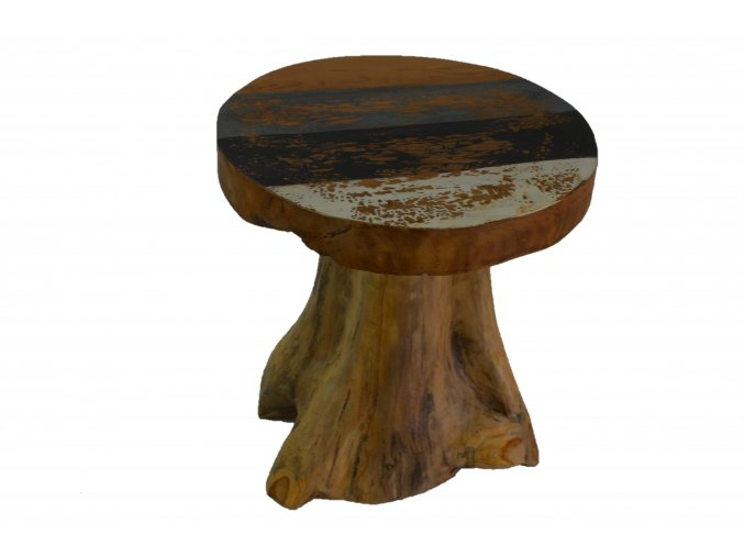 stolek z kořene teaku 1