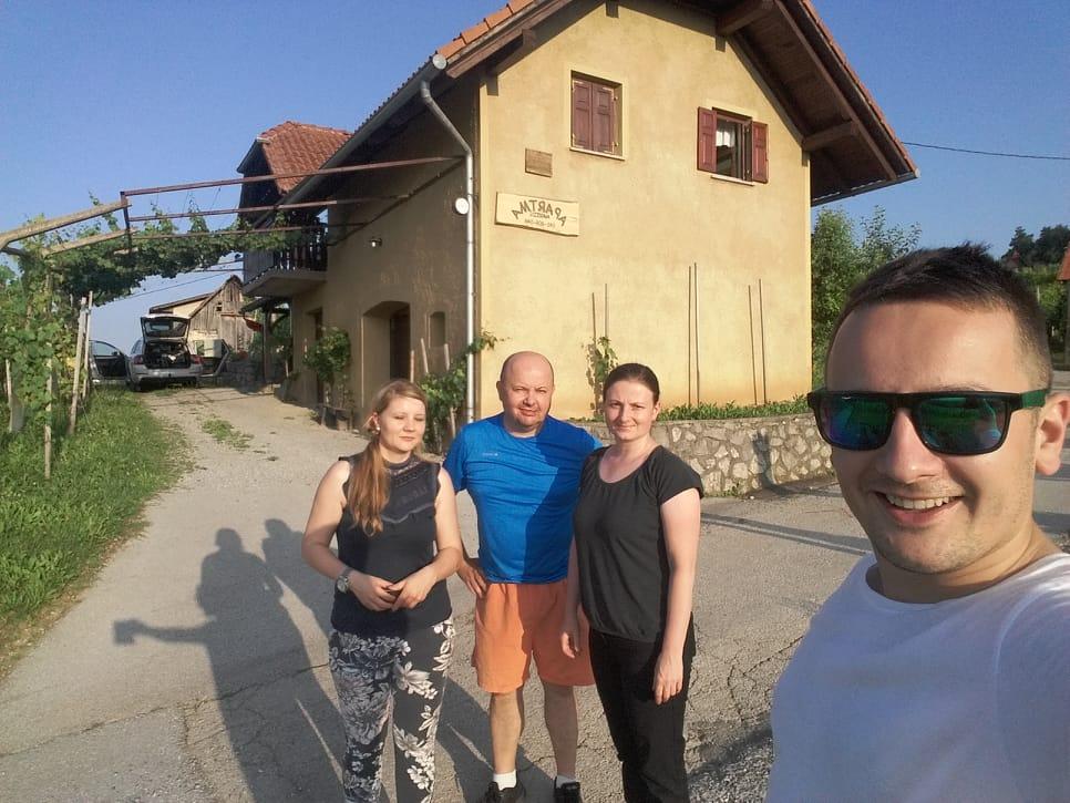 Školení ve Slovinsku