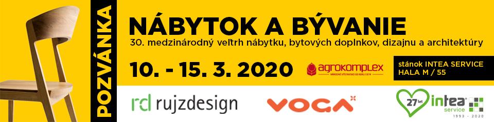Veletrh Nábytok a bývanie Nitra 2020
