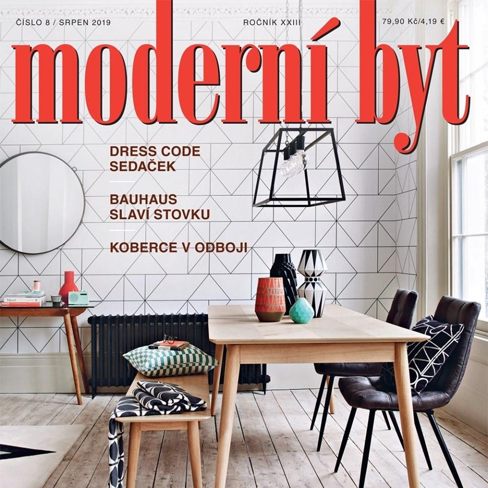 Naše výrobky v časopise MODERNÍ BYT