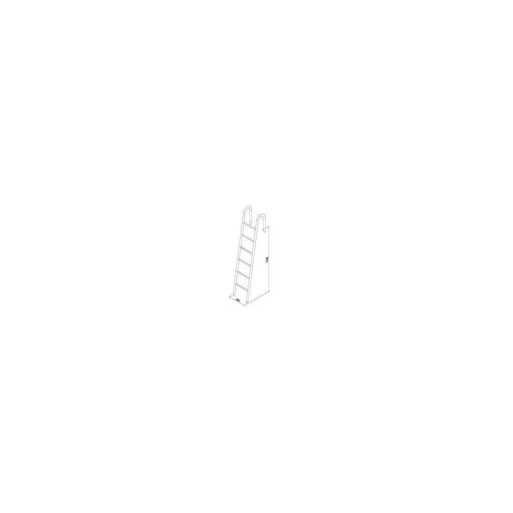 Postelový žebřík V VOGA art. 30692