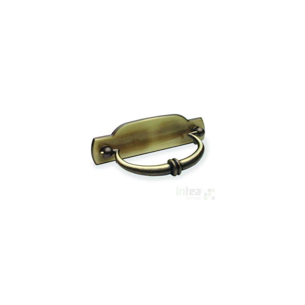 Úchytka, madlo  Rujzdesign 298.12 MSpAtL/MspAtL/Mosaz patina