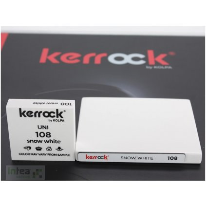 Deska z litého kamene KERROCK 108 Snow White 3600 mm