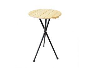 IN DESIGN CANNES bistro stolek Černá RAL 9005 foto A