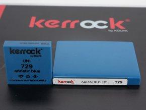 Deska z litého kamene KERROCK 729 Adriatic blue 3600mm