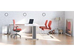 Samostatné podnoží VOGA COMO - komplet pro sestavení stolu