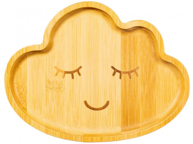 JQY028 A Bamboo Cloud Plate