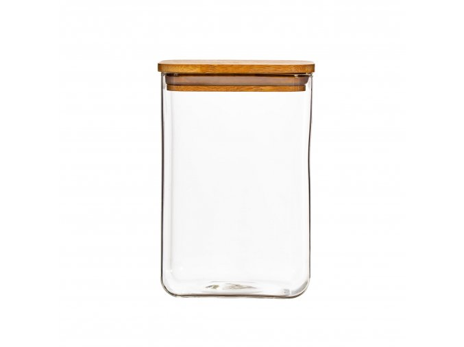 TAI011 A Glass Storage Container Large