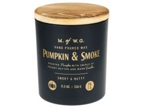 MAKERS OF WAX GOODS VONNÁ SVÍČKA VE SKLE PUMPKIN & SMOKE 8OZ