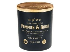 MAKERS OF WAX GOODS VONNÁ SVÍČKA VE SKLE PUMPKIN & BIRCH 8OZ