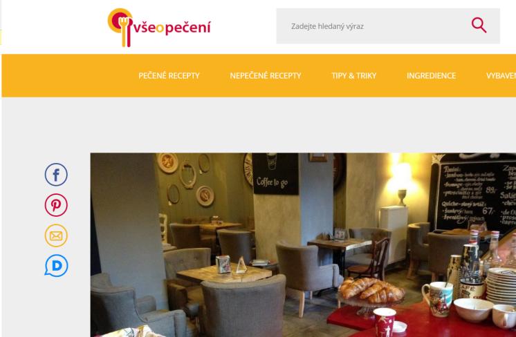 Pohádková kavárna francouzského stylu se nachází kousek od hlavního nádraží v Praze.