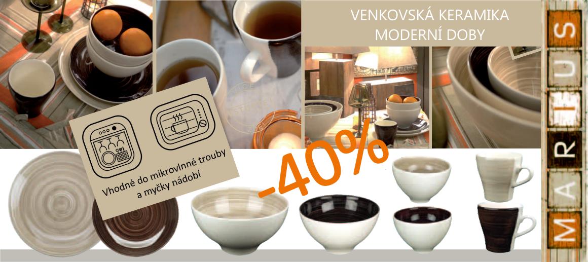 Venkovská keramika moderní doby