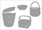 Koše a košíky - Nic nevkládat( Bytové doplňky a dekorace  ›  Skladování  ›  Koše a košíky)