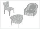 Proutěný nábytek