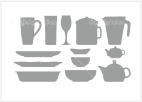 Sklo, porcelán, nádobí
