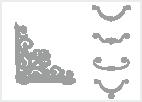 Úchytky, konzole a ostatní příslušenství k nábytku