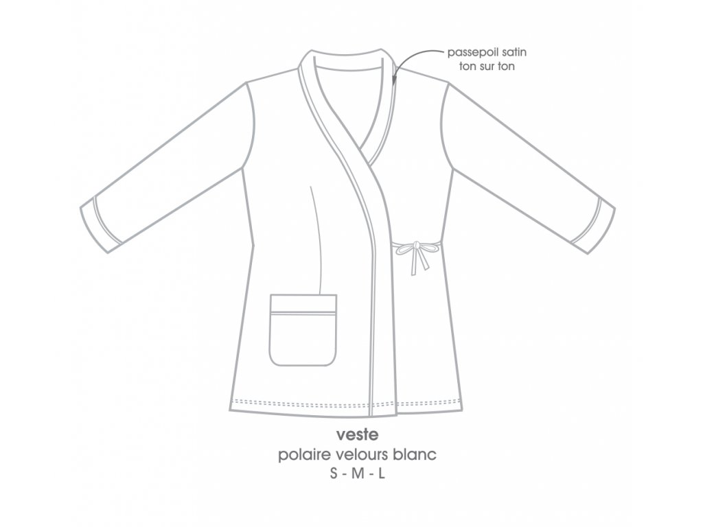 BRUXELLE Dámská fleece košile S