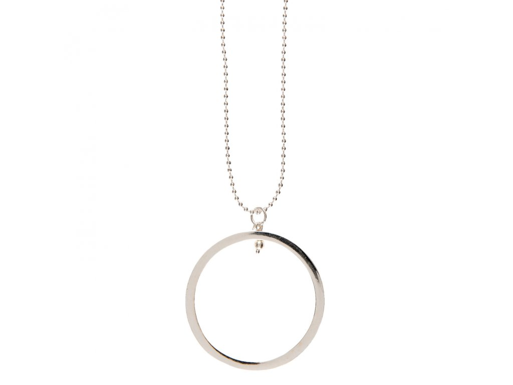 Náhrdelník Lesklý kruh