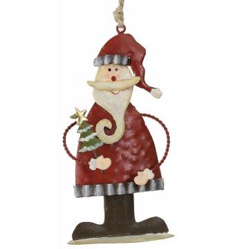 Vánoční dekorace Santa a stromeček