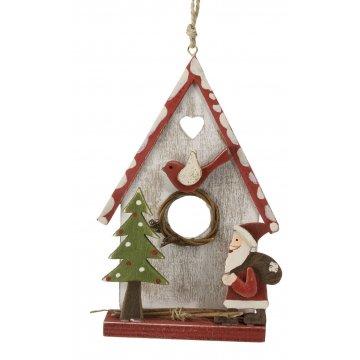 Vánoční dekorace Domeček bílý