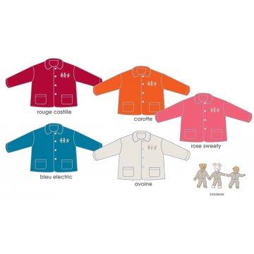 ROSE SWEETY Dětská fleece košile 8 LET