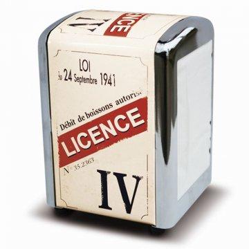 Zásobník na ubrousky Licence IV