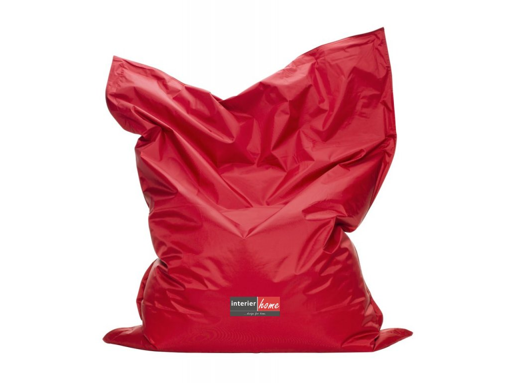 Sedací vak Bag red
