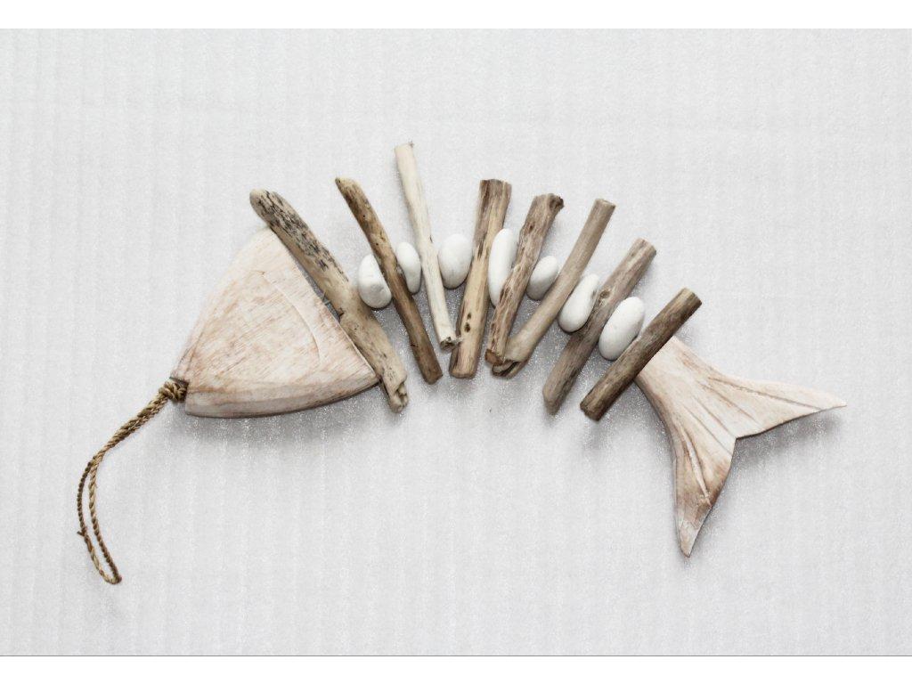 Rybka- plavené dřevo