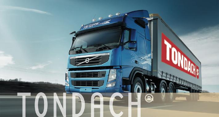 kamionová doprava tondach