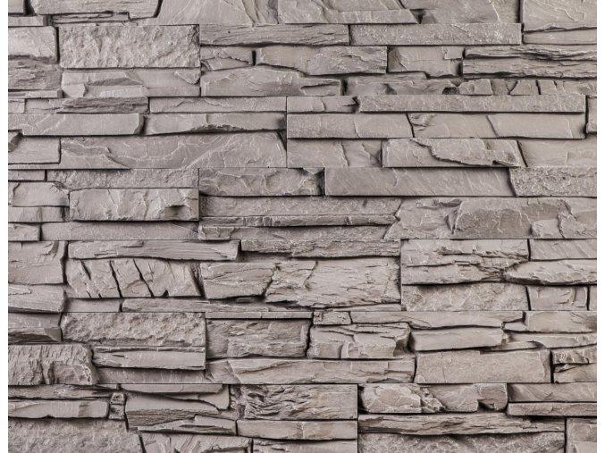 Obklad imitace kamene Bastida šedá