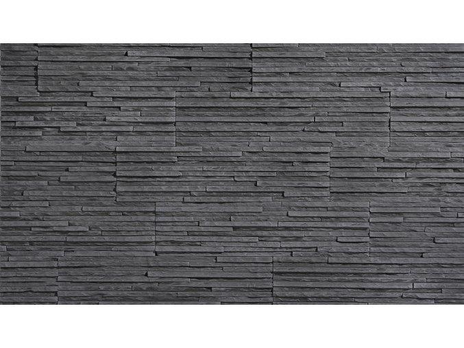 Obklad imitace kamene Palermo 2 graphite - Stegu