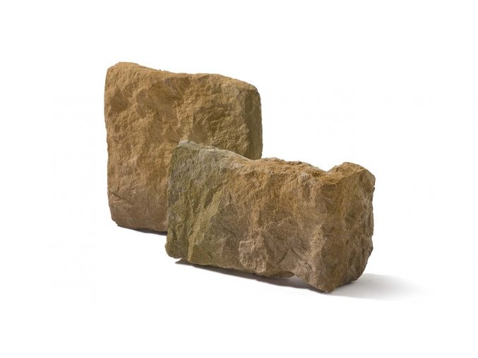 Obklad imitace kamene Calabria 1 mocca roh - Stegu