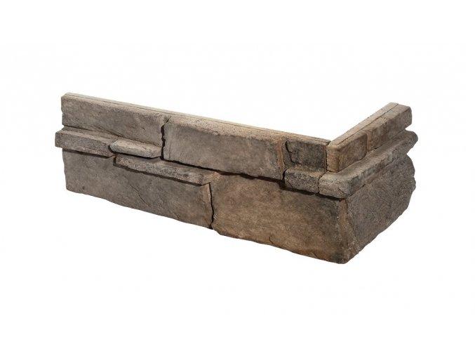 Obklad imitace kamene Grenada 4 volcanic roh - Stegu