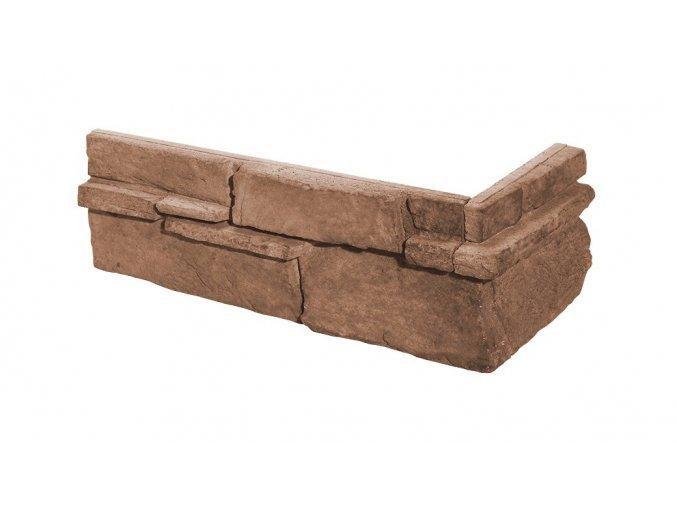 Obklad imitace kamene Grenada 6 rose roh - Stegu