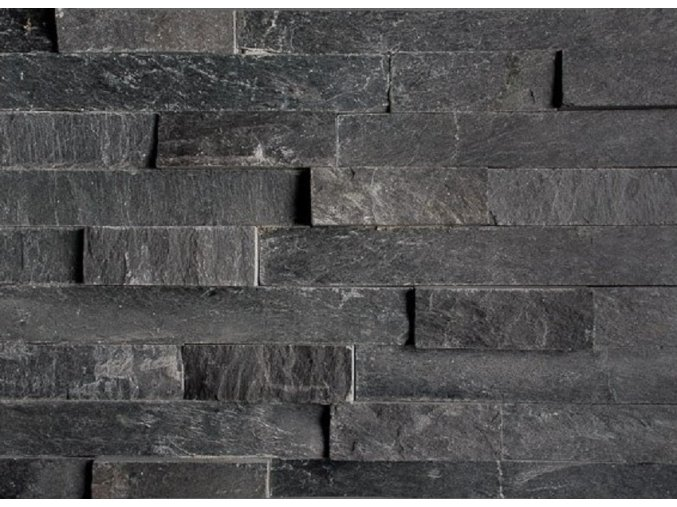Břidlice černá 55x15cm N3003