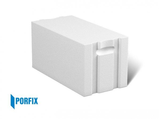 Porobeton Porfix tvárnice bílá PD