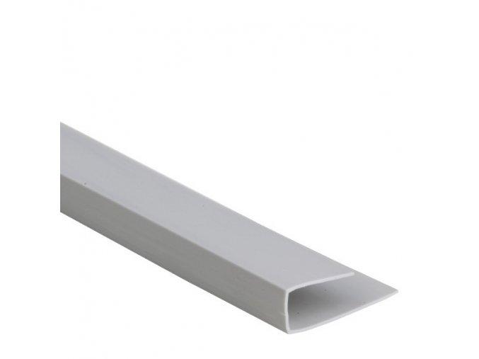 okončovací profil COLOR šedá
