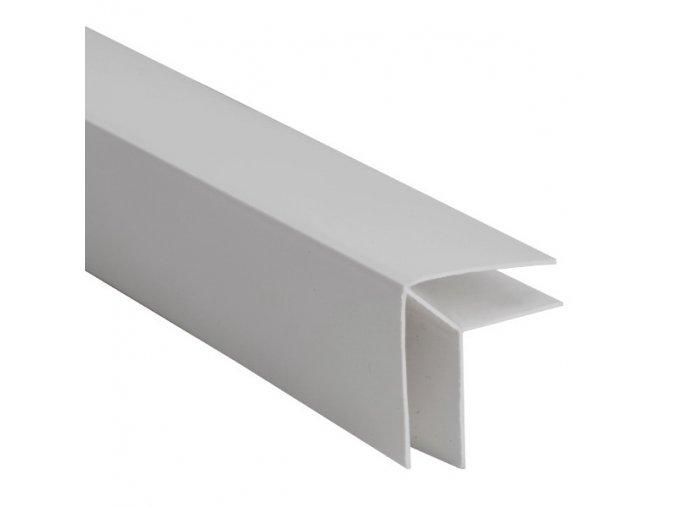 rohový profil COLOR šedá