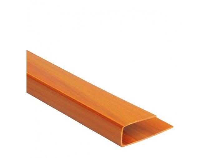 Ukončovací profil Color P109 borovice/olše 3m