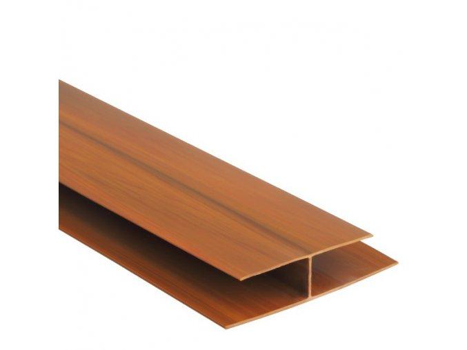 spojovací profil pro palubky COLOR teak - zlatý dub