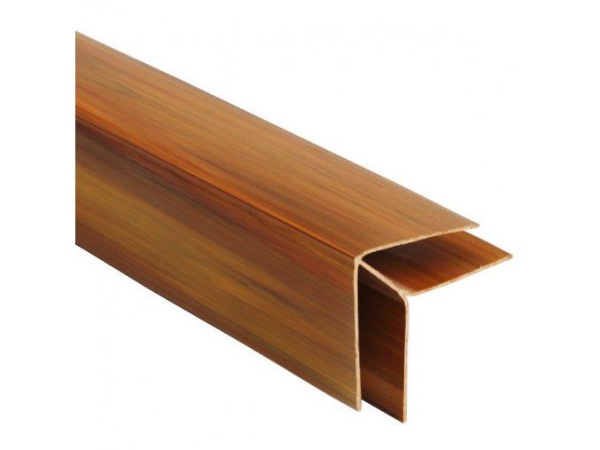 rohový profil COLOR zlatý dub - teak