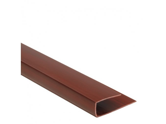 Ukončovací profil Color P109 černá třešeň 3m
