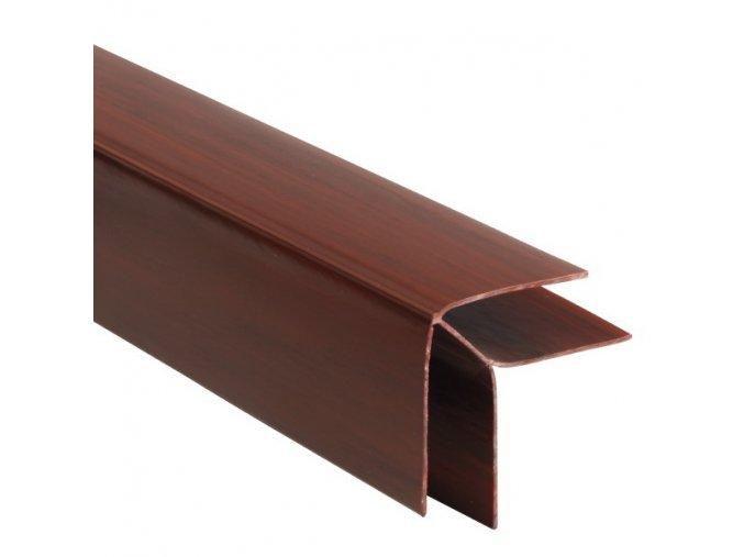 rohový profil COLOR černá třešeň