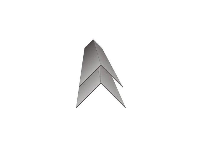 Vnější rohový profil Profi Decor P517 antracitová šedá 3m