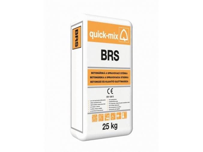Quick mix BRS 25kg betonářská a opravovací stěrka