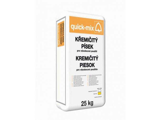 Quick mix QS bílý 25kg křemičitý písek