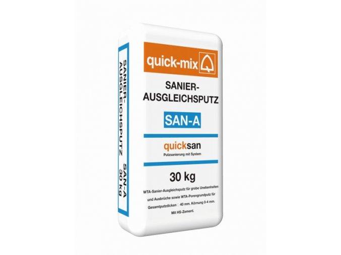 Quick mix SAN-A 30kg vyrovnávací sanační omítka