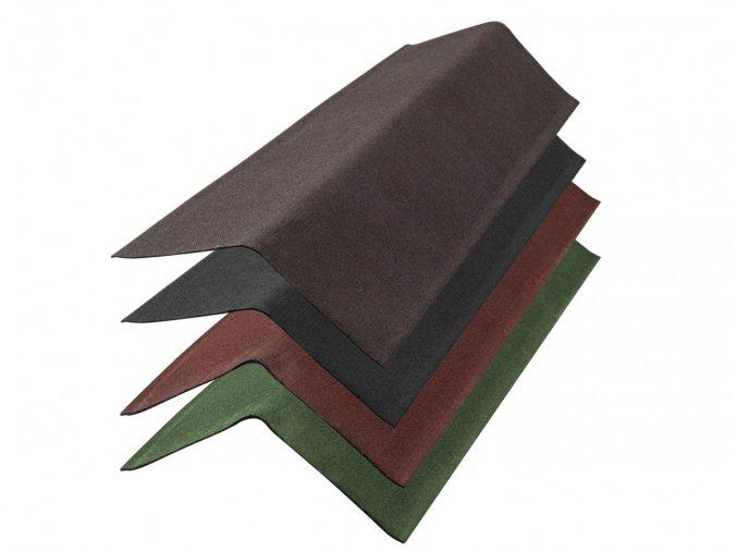 bitumenové štítová lišta gutta