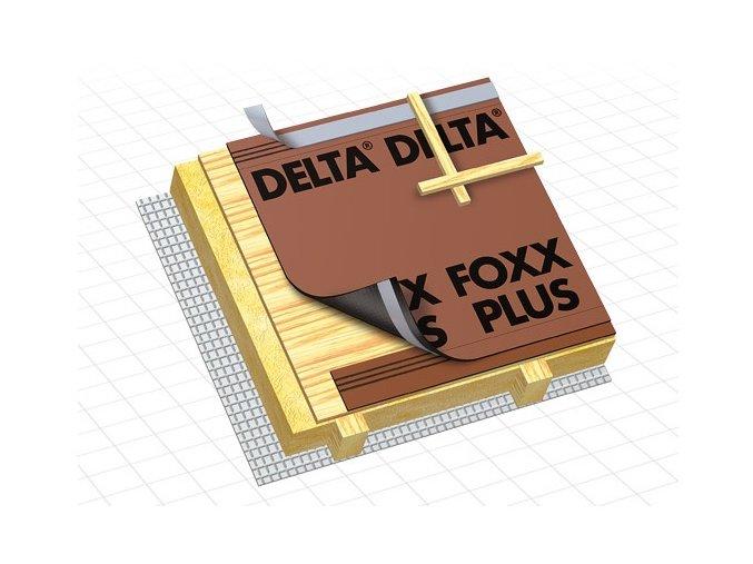 DÖRKEN Delta FOXX - difuzní pojistná hydroizolace